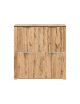 Zele cupboard KOM4D