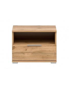 Zele bedside cabinet KOM1S