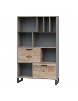 Bari bookcase REG1D2S