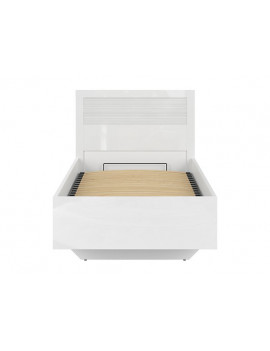 Flames ottoman bed 90