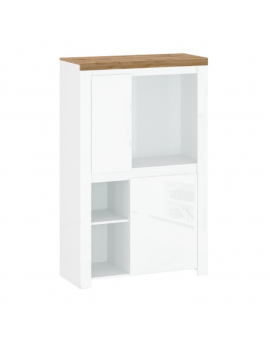 Vigo low bookcase REG2D