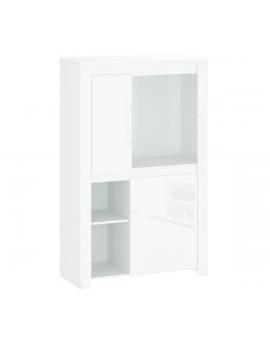Lingo low bookcase REG2D