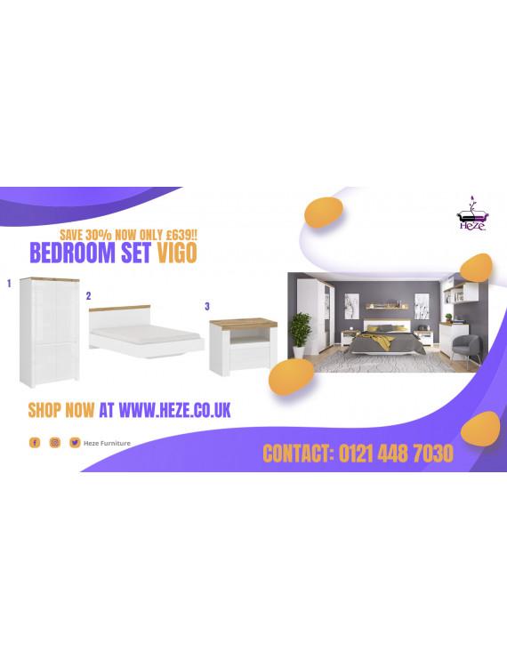 Vigo bedroom set