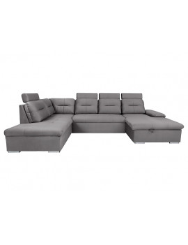 Darby U shape sofa bed with...