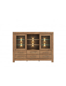 Gent display cabinet KOM2W6S