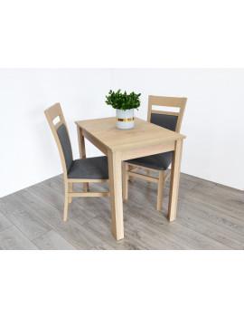 Miron stół rozkładany z 2 krzesłami Kam2 sonoma