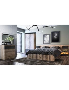 Hotelowe łóżko tapicerowane...