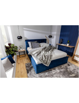 Luria upholstered bed with...