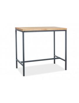 SG Metro solid wood bar table