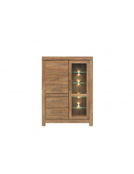 Gent display cabinet REG1W1D2S