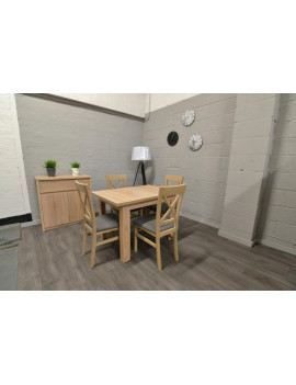 SET of BRW extending dining...