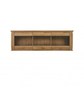 Bergen hanging display cabinet SFW3W
