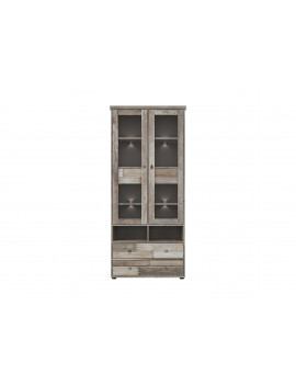 Tarbes display cabinet...