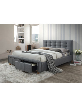 Upholstered bed Ascot 160