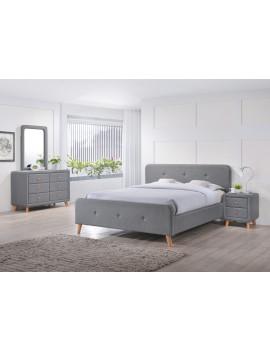 Upholstered bed Malmo 140