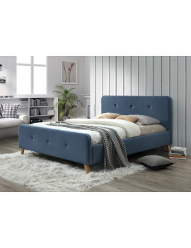 Upholstered bed Malmo 160