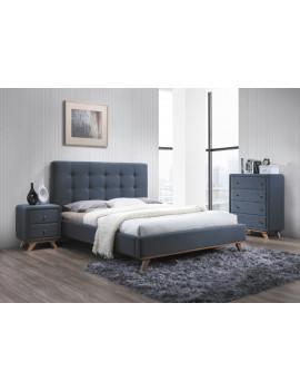 Upholstered bed Melisa 160