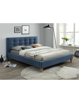 Upholstered bed Texas 160