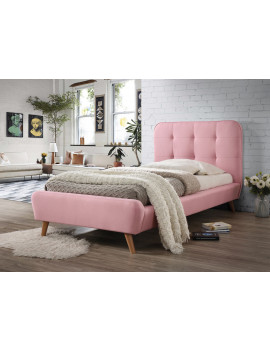 Upholstered bed Tiffany 90