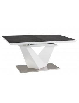 SG Alaras stół rozkładany 160 czarny