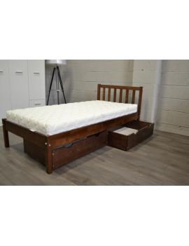 Łóżko Berno z 2 szufladami