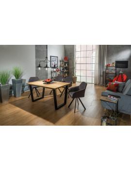 SG Valentino solid oak table 120