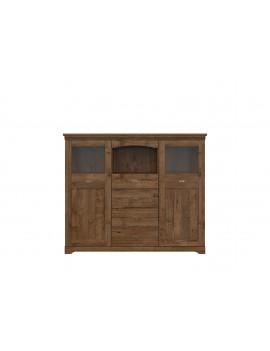 Patras display cabinet KOM2W4S
