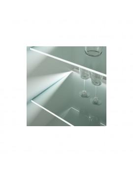 Patras LED lights display cabinet REG1W2S