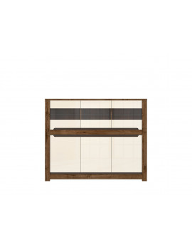 Ruso display cabinet KOM3W3D