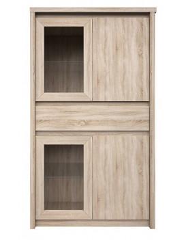 Norton display cabinet short 2d2w1s/150