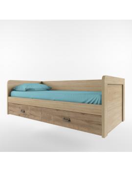 Diesel łóżko