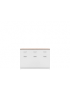 Top Mix sideboard 3d2s white