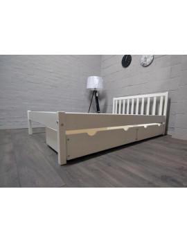 Łóżko podwójne z dwoma szufladami Berno