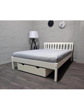 Podwójne łóżko Berno z szufldą