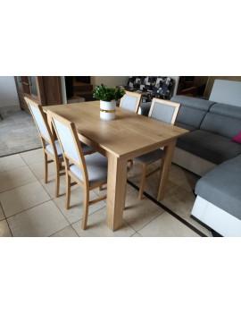 BRW stół nierozkładany 138x80
