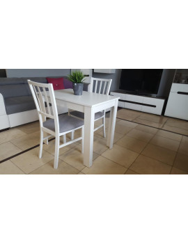 Miron stół rozkładany z 2 krzesłami MarP