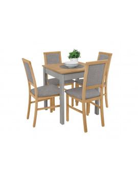 Bryk mini stół z 4 krzesłami