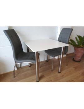 Zestaw stół Mikla z 2 krzesłami