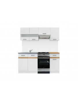 Junona kuchnia 170cm biały...