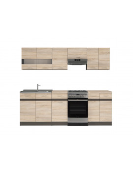 Junona kitchen units set 230cm
