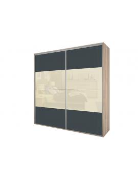 Szafa z drzwiami przesuwanymi Bos 125x240