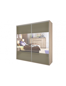 Sliding doors wardrobe Bos 125x240