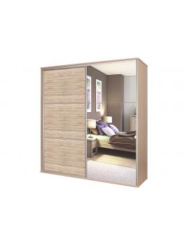 Sliding doors wardrobe Bos 182x210