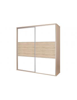 Sliding doors wardrobe Bos 200x210
