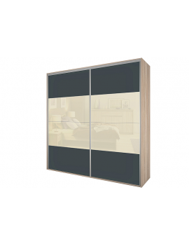 Sliding doors wardrobe Bos 200x240