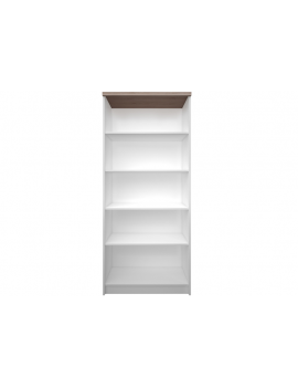 Top Mix bookcase high 80 white