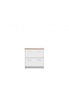 Top Mix shoe cabinet 2k white