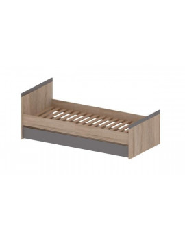 Madagascar bed with drawer 90