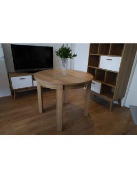 Bernardin round extending dining table