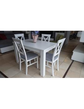 Zestaw stół Ramen midi + 4 krzesła Alla